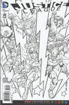 Cover Thumbnail for Justice League (2011 series) #48 [Adult Coloring Book Variant]