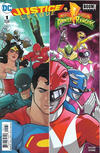 Cover Thumbnail for Justice League / Power Rangers (2017 series) #1 [Karl Kerschl Cover]