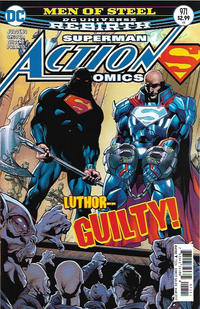 Cover Thumbnail for Action Comics (DC, 2011 series) #971