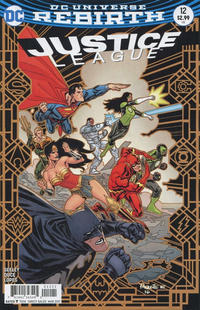 Cover Thumbnail for Justice League (DC, 2016 series) #12 [Yanick Paquette Cover]