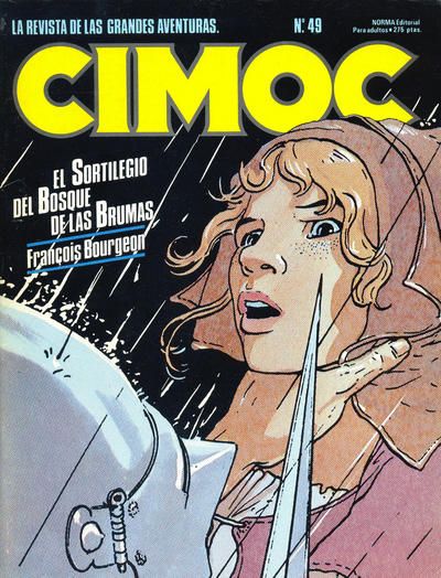 Cover for Cimoc (NORMA Editorial, 1981 series) #49