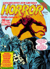 Cover for Horror (Condor, 1989 series) #1