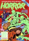 Cover for Horror (Condor, 1989 series) #4