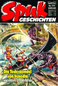 Cover Thumbnail for Spuk Geschichten (Bastei Verlag, 1978 series) #171