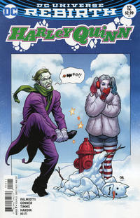 Cover Thumbnail for Harley Quinn (DC, 2016 series) #12 [Frank Cho Cover Variant]