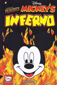 """Cover Thumbnail for Disney Graphic Novels (NBM, 2015 series) #4 - Great Parodies """"Mickey's Inferno"""""""