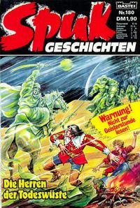 Cover Thumbnail for Spuk Geschichten (Bastei Verlag, 1978 series) #180