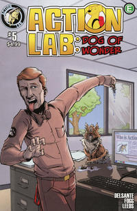 Cover Thumbnail for Action Lab: Dog of Wonder (Action Lab Comics, 2016 series) #5 [Cover B]