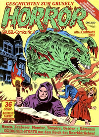 Cover Thumbnail for Horror (Condor, 1989 series) #6