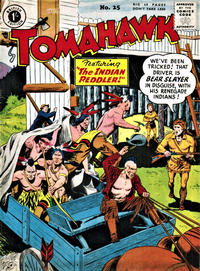 Cover for Tomahawk (Thorpe & Porter, 1954 series) #25