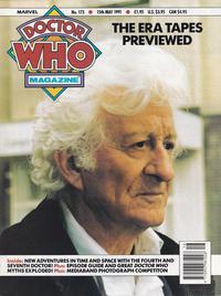 Cover Thumbnail for Doctor Who Magazine (Marvel UK, 1985 series) #173