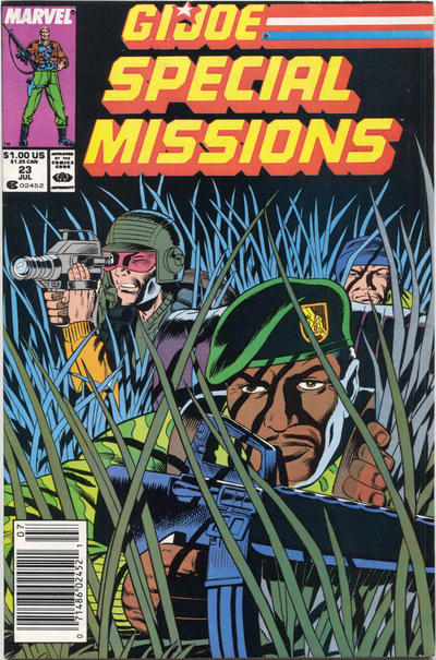 Cover for G.I. Joe Special Missions (Marvel, 1986 series) #23 [Direct Edition]