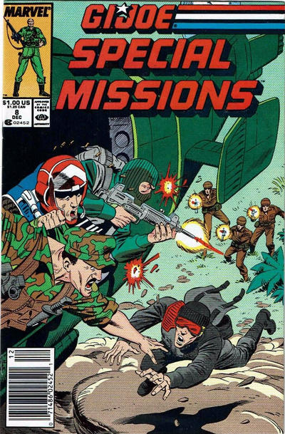 Cover for G.I. Joe Special Missions (Marvel, 1986 series) #8 [Direct Edition]