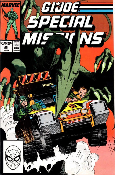 Cover for G.I. Joe Special Missions (Marvel, 1986 series) #25 [Direct Edition]