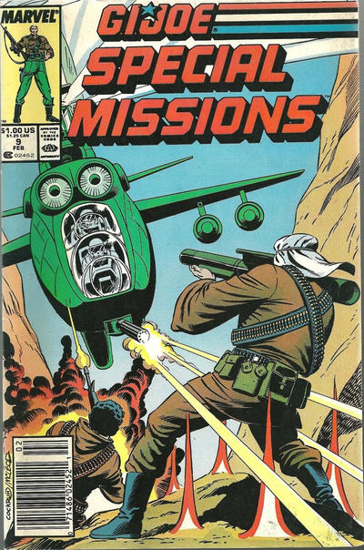 Cover for G.I. Joe Special Missions (Marvel, 1986 series) #9 [Direct Edition]