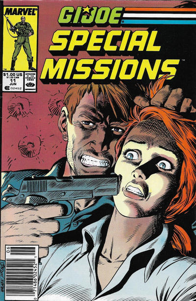 Cover for G.I. Joe Special Missions (Marvel, 1986 series) #11 [Direct Edition]