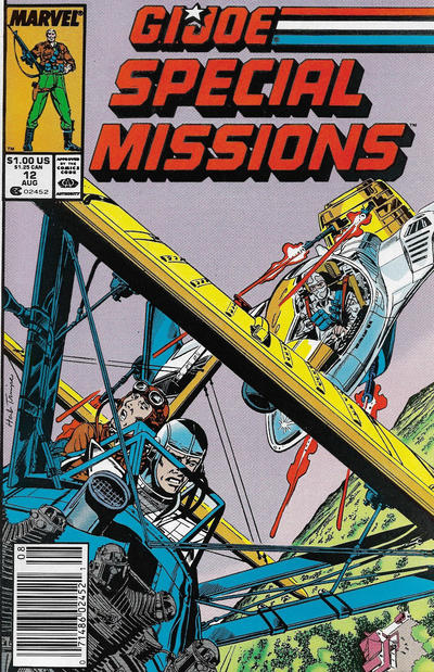 Cover for G.I. Joe Special Missions (Marvel, 1986 series) #12 [Direct Edition]