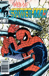 Cover for Web of Spider-Man (Marvel, 1985 series) #4 [Newsstand]