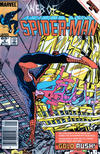 Cover for Web of Spider-Man (Marvel, 1985 series) #6 [Newsstand]