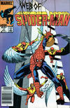Cover for Web of Spider-Man (Marvel, 1985 series) #2 [Newsstand Edition]