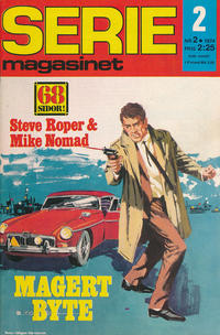 Cover Thumbnail for Seriemagasinet (Semic, 1970 series) #2/1974