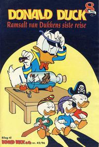 Cover Thumbnail for Donald Duck & Co Ekstra [Bilag til Donald Duck & Co] (Hjemmet / Egmont, 1985 series) #8/1996