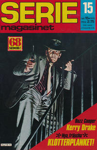 Cover Thumbnail for Seriemagasinet (Semic, 1970 series) #15/1975