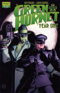 Cover Thumbnail for Green Hornet: Year One (Dynamite Entertainment, 2010 series) #10
