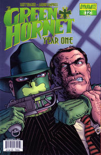Cover Thumbnail for Green Hornet: Year One (Dynamite Entertainment, 2010 series) #12