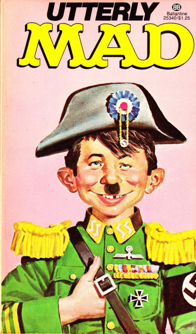 Cover for Utterly Mad (Ballantine Books, 1956 series) #25340 [4]