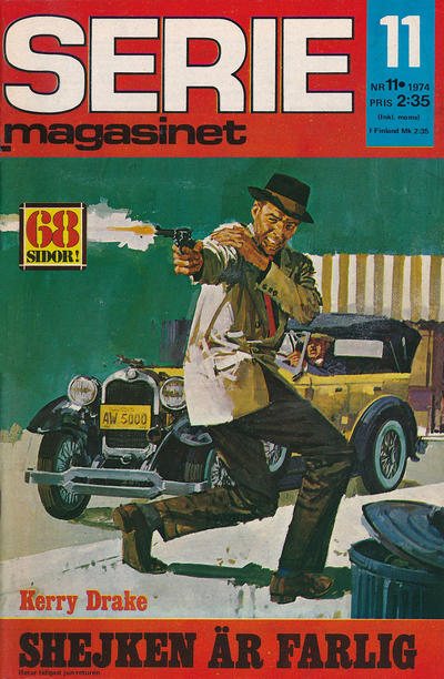 Cover for Seriemagasinet (Semic, 1970 series) #11/1974