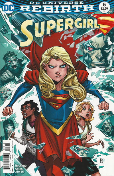 Cover for Supergirl (DC, 2016 series) #5