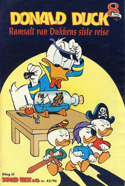 Cover for Donald Duck & Co Ekstra [Bilag til Donald Duck & Co] (Hjemmet / Egmont, 1985 series) #8/1996