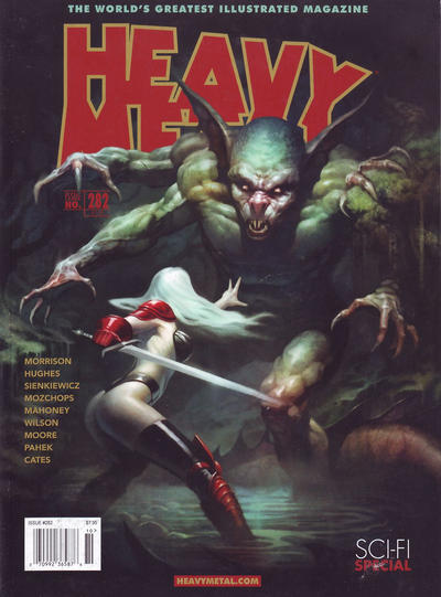 Cover for Heavy Metal Magazine (Heavy Metal, 1977 series) #282 - Sci-Fi Special [Patrick Reilly Newsstand / Subscription / Comic Shops Cover]