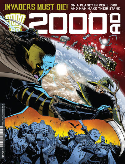 Cover for 2000 AD (Rebellion, 2001 series) #2015