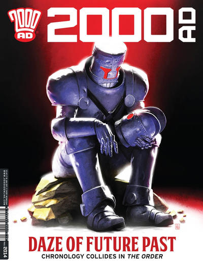 Cover for 2000 AD (Rebellion, 2001 series) #2014