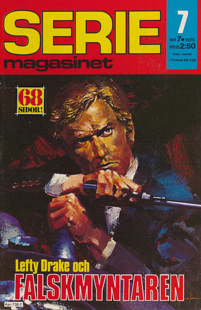 Cover for Seriemagasinet (Semic, 1970 series) #7/1975