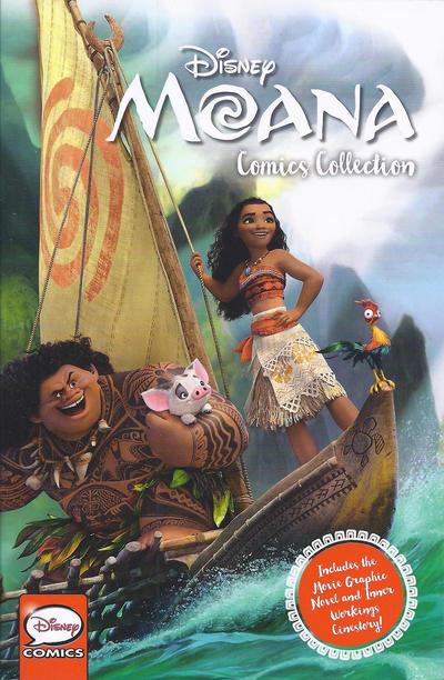Cover for Disney Moana Comics Collection (Joe Books, 2016 series)
