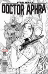 Cover Thumbnail for Doctor Aphra (2017 series) #1 [Brain Trust Exclusive Ashley Witter Black and White Variant]
