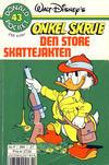 Cover for Donald Pocket (Hjemmet / Egmont, 1968 series) #43 - Onkel Skrue Den store skattejakten [2. utgave bc-F 384 27]