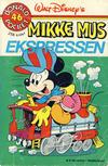 Cover for Donald Pocket (Hjemmet / Egmont, 1968 series) #46 - Mikke Mus ekspressen [1. opplag Reutsendelse 269 99]