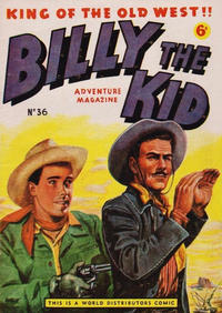 Cover Thumbnail for Billy the Kid Adventure Magazine (World Distributors, 1953 series) #36