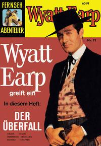 Cover for Fernseh Abenteuer (Tessloff, 1960 series) #71