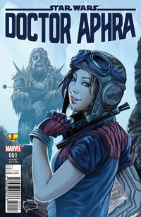 Cover Thumbnail for Doctor Aphra (Marvel, 2017 series) #1 [Brain Trust Exclusive Ashley Witter Color Variant]