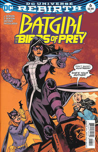 Cover Thumbnail for Batgirl & the Birds of Prey (DC, 2016 series) #6