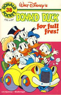 Cover Thumbnail for Donald Pocket (Hjemmet / Egmont, 1968 series) #38 - Donald Duck for full fres! [1. opplag]