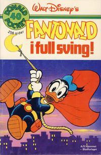 Cover Thumbnail for Donald Pocket (Hjemmet / Egmont, 1968 series) #40 - Fantonald i full sving! [1. opplag]