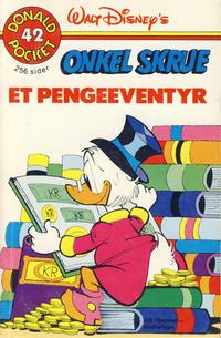 Cover Thumbnail for Donald Pocket (Hjemmet / Egmont, 1968 series) #42 - Onkel Skrue et pengeeventyr [1. opplag]