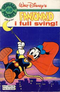Cover Thumbnail for Donald Pocket (Hjemmet / Egmont, 1968 series) #40 - Fantonald i full sving! [2. opplag]