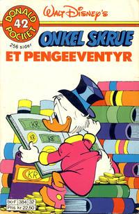 Cover Thumbnail for Donald Pocket (Hjemmet / Egmont, 1968 series) #42 - Onkel Skrue et pengeeventyr [2. opplag]